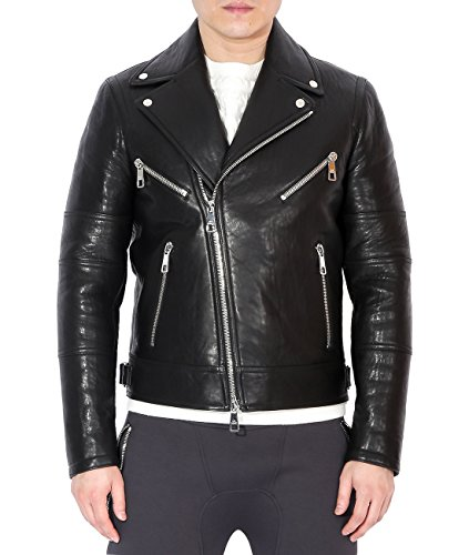 wiberlux-neil-barrett-mens-star-patch-detail-real-leather-moto-jacket-m-black
