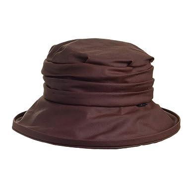 cd594e927f5 Olney Hats Annabel Waterproof Bucket Hat - Brown 1-Size: Amazon.co ...