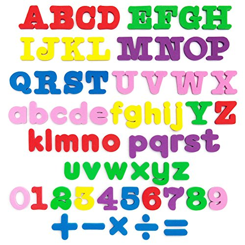 MAGNETIC letters - Magnetic numbers - Alphabet magnets - SET of 67- Alphabet letters - ABC learn - letter ABC magnets 123 - Foam letters number magnets for kids - magnetic fridge - magnetic ALPHABET