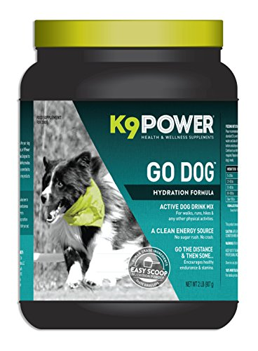 K9-Power Go Dog - Total Hydration and Performance Drink for Active Dogs - 2 Pound