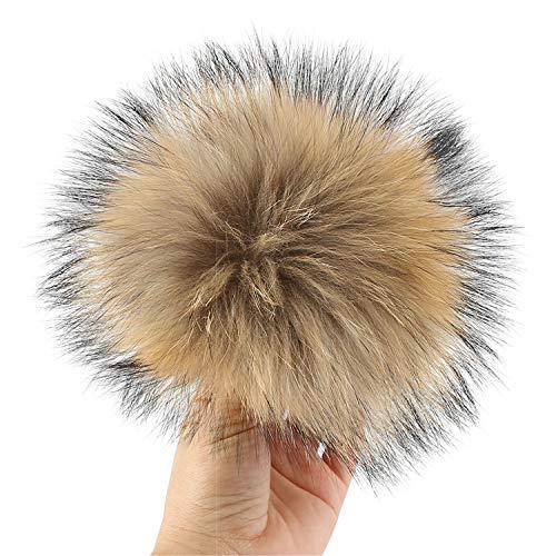 Colori 11 17 Inverno Hat Beanie Pompon 16 Key Colorati Cm Sunonip Pompom Fox Tuta Per Shoes Fur Pompom Borsa faTFqn5wH
