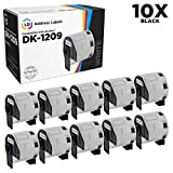 LD Compatible Address Label Replacements for Brother DK-1209 1.1 inch x 2.4 inch (10-Pack)