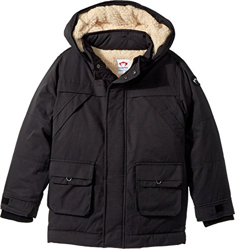 Appaman Little Boys' Denali Down Coat, Black, 5 by Appaman (Image #1)