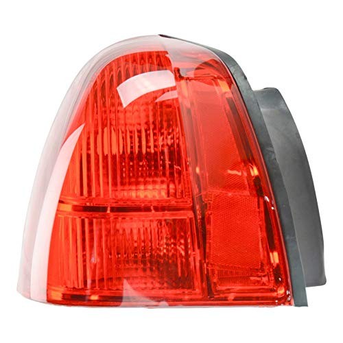 (Taillight Taillamp Brake Light Lamp Left Driver Side Rear for 03-11 Town Car )