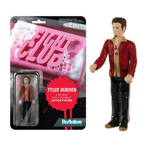 Funko Fight Club Tyler Durden ReAction 3 3/4-Inch Retro Action Figure