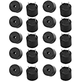 Aexit 20Pcs 12V Active Buzzer Magnetic Long Continous Beep Tone Alarm 12mm x 9.5mm