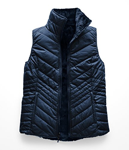 - The North Face Women's Mossbud Insulated Reversible Vest Blue Wing Teal X-Large