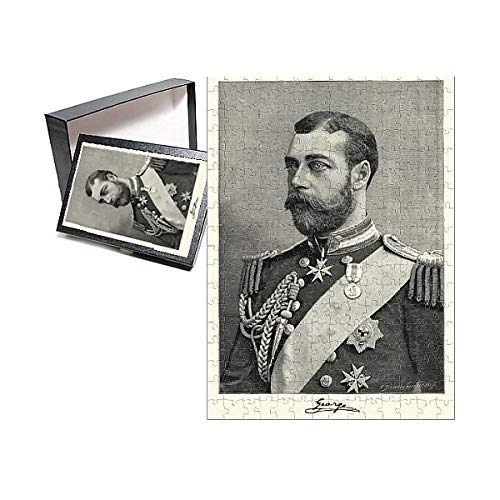 Media Storehouse 252 Piece Puzzle of Portrait of King George V, 1892 (15502265)