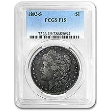 1893 S Morgan Dollar Fine-15 PCGS $1 F-15 PCGS