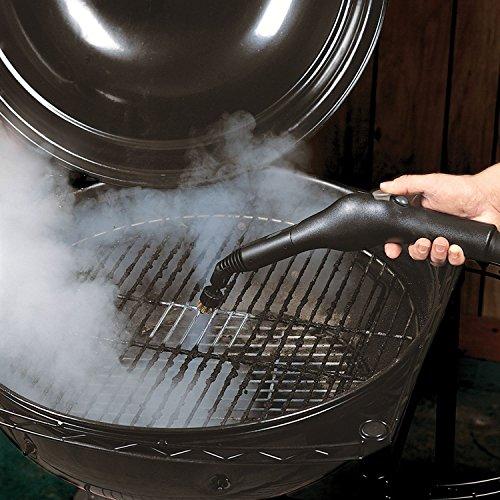 MC1275 Steam Cleaner Steamer Mcculloch, Heavy-duty (Complete Set) w/ Bonus: Premium Microfiber Cleaner Bundle
