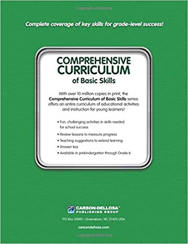 Comprehensive Curriculum of Basic Skills, Grade 3: Thinking Kids ...