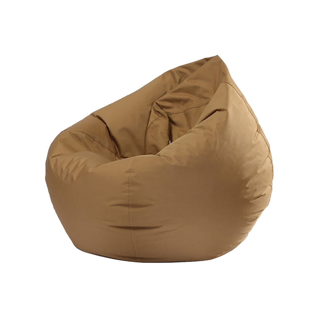 Flameer Kids Waterproof Stuffed Animal Storage Bean Bag Cover, 11 Colors Available - Coffee