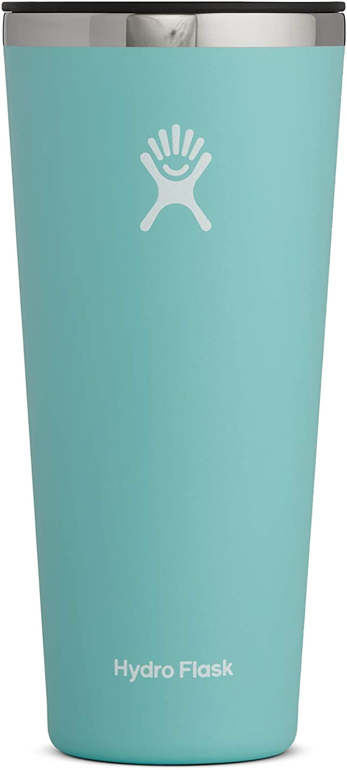 Hydro Flask Tumbler Cup - Stainless Steel & Vacuum Insulated - Press-In Lid - 32 oz, Alpine