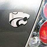 Kansas State University Wildcats ''Powercat'' NCAA College Chrome Plated Premium Metal Car Truck Motorcycle Emblem