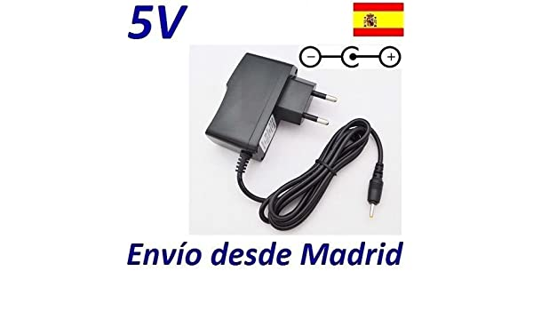 Cargador Corriente 5V Reemplazo Tablet Airis OnePAD 725 TAB725 ...