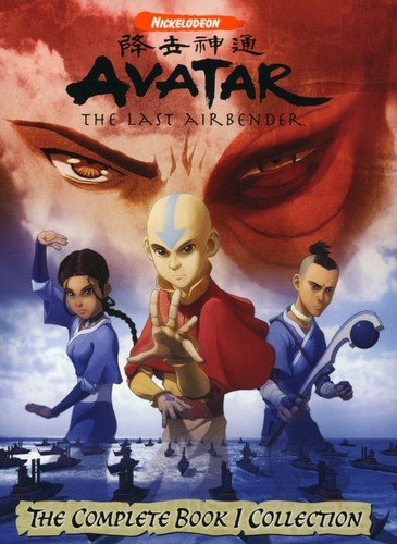 DVD : Avatar: The Last Airbender - The Complete Book One Collection