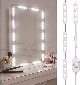 Kit de luces para espejo, Vagalbox Vanity Mirror Lights ...