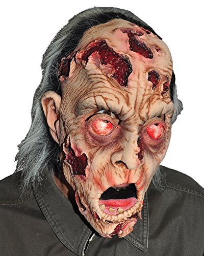 UHC Men's Zombie He's Appealing Scary theme Party Latex Halloween (He's Appealing Mask)