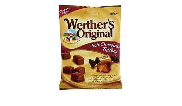 WERTHER`S Original caramelos toffees blandos recubiertos bolsa 120 gr: Amazon.es: Alimentación y bebidas