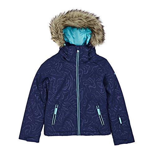 Roxy Snow Jackets - Roxy Jet Ski Girls Snow Jacket - Blue Print by Roxy