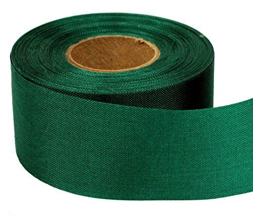 (Windsock Fabric Streamer Material, 1-1/2 Inch Wide x 75 Foot Roll, 200 Denier Nylon, UV Treated, DIY Ribbon- Green)