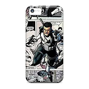 Durable The Punisher Comics Back Case/cover For Iphone 5c