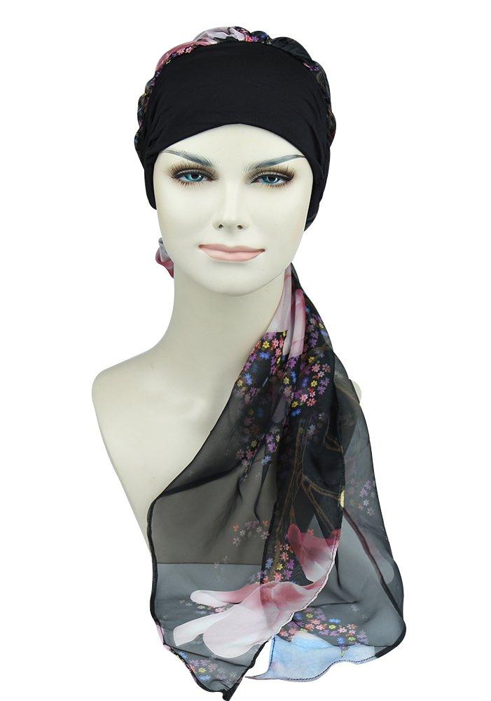 Cancer Hats For Hair Loss Women Stylish Turbans Chemo Headwear Scarfs