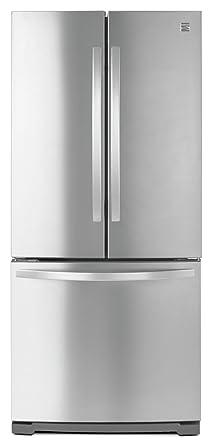 non dispense french door bottom freezer refrigerator - Non Stainless Steel Appliances