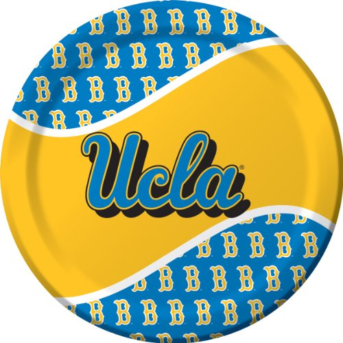 Creative Converting UCLA Bruins Dinner Paper Plates (8 Count)