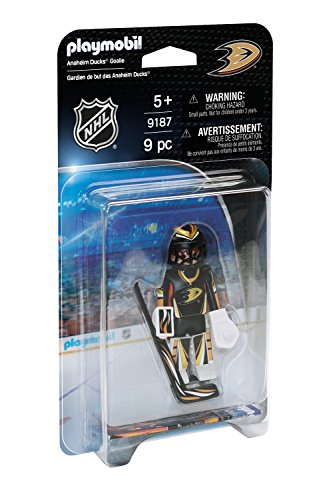 PLAYMOBIL NHL Anaheim Ducks Goalie -