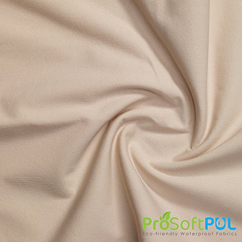ProSoft Waterproof 1 mil PUL Fabric (Made in USA, Nude, sold by the yard)