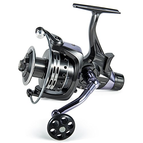 Supertrip Spinning Fishing Reel Front Drag and Rear Drag Spinning Reels for Inshore & Saltwater Pike Carp Coarse Sea Game Match Predator Fishing IFR6000