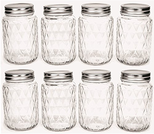 jar drinking glasses - 2
