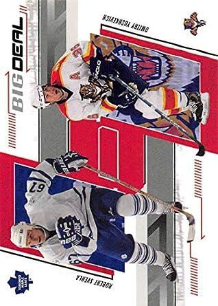 Amazon.com  2002-03 Be A Player Memorabilia Hockey  244 Dimitri Yushkevich Robert  Svehla Toronto Maple Leafs Official NHL Card by ITG In The Game  ... 05effae50