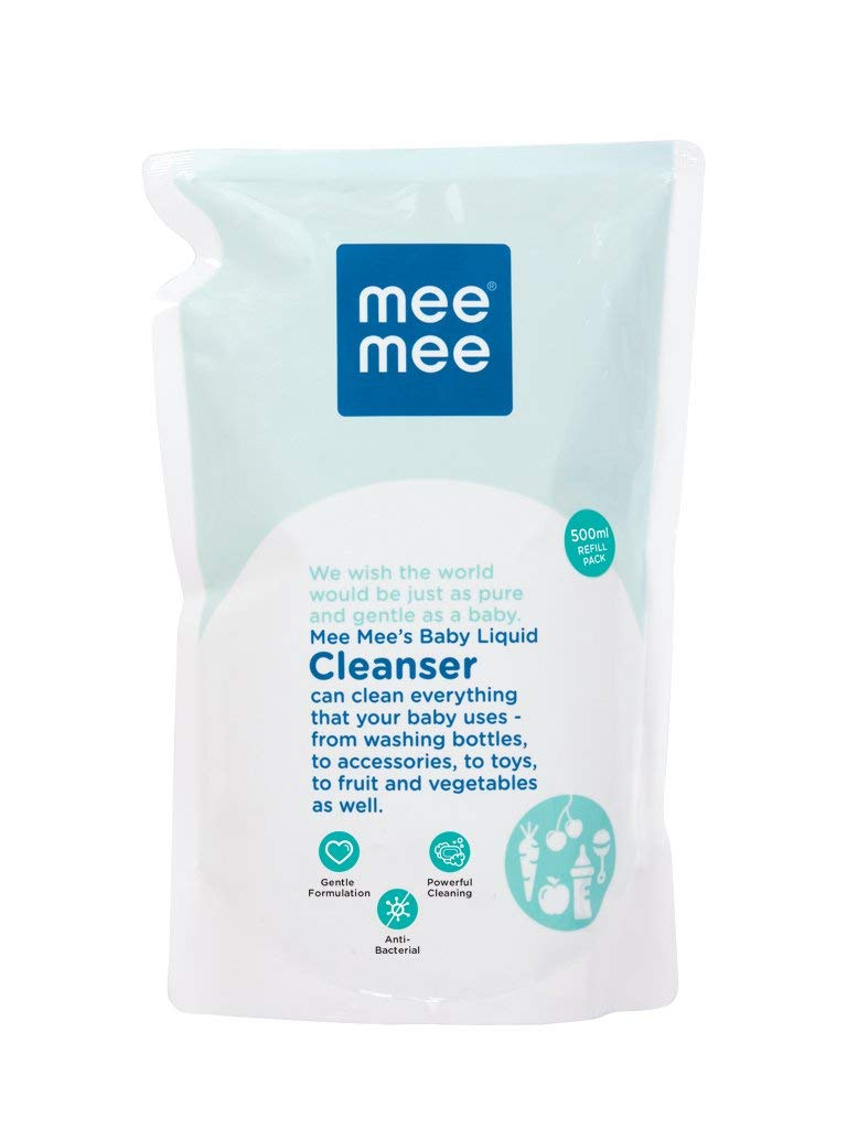 Mee Mee Anti Bacterial Baby Liquid Cleanser, 500ml product image
