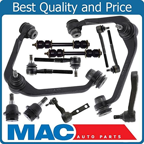 Front Suspension Kit 12p Ball Joints Arms 97-03 Fits For Ford F-150 Rear Wheel Drive ()