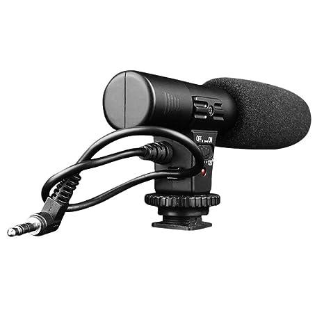 rocona profesional MIC-01 Digital Video DV cámara escopeta estéreo ...