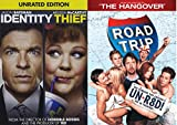 The Unrated Road Comedy Movies - Road Trip (Unrated! Uncensored! The Version You Couldn't See in Theaters) & Identity Thief (Unrated Edition) 2-Movie Bundle