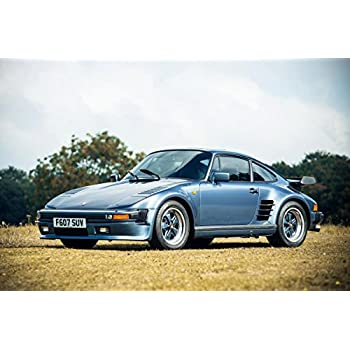Gifts Delight Laminated 36x24 Poster: Porsche 911 Turbo