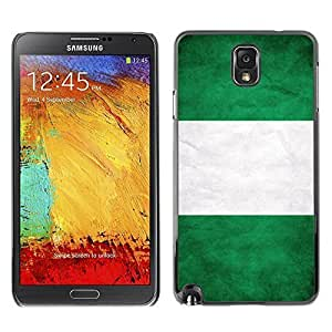 Shell-Star ( National Flag Series-Nigeria ) Snap On Hard Protective Case For Samsung Galaxy Note 3 III / N9000 / N9005