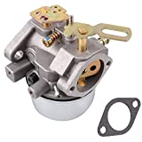 Carburetor Carb for Tecumseh 8HP 9HP 10HP Engine HMSK80 HMSK90 LH318SA LH358SA Snowblower - Part No. 640349, 640052, 640054