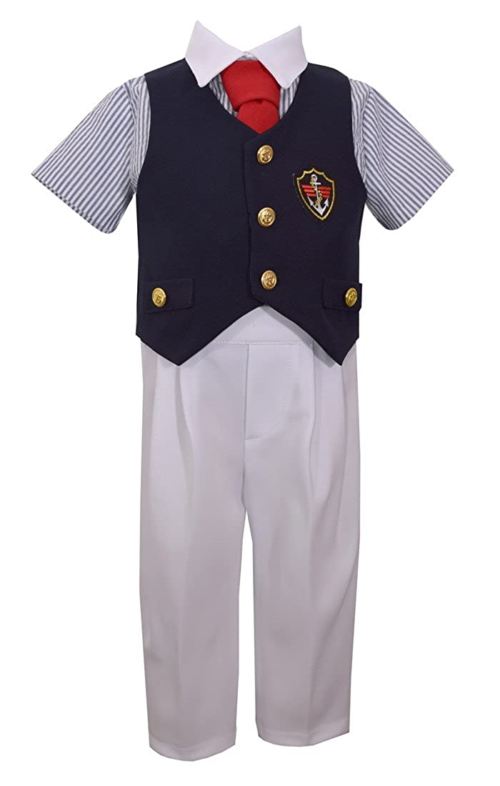 Bonnie Jean Boys Boys Poly Poplin Suit Set