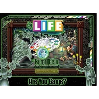 Disney Theme Parks Exclusive The Game of Life Haunted Mansion Edition: Toys & Games