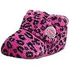 UGG Kids Baby Girl's Bixbee Leopard (Infant/Toddler) Princess Pink Leopard Slipper SM (US 2-3 Infant) M