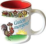 Gift for German Ceramic Coffee Mug %22Gu