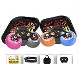 TTYY Freeline Drift Skates New Colorful Wheel Outdoor Sports Non-slip Wear-Resisting?Four sandpaper random shipments? Set