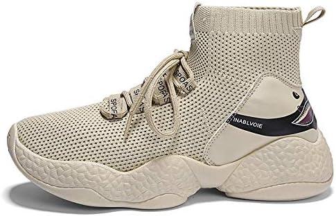 Liuxc Zapatillas de deporte Calzado de Hombre Medias Altas ...