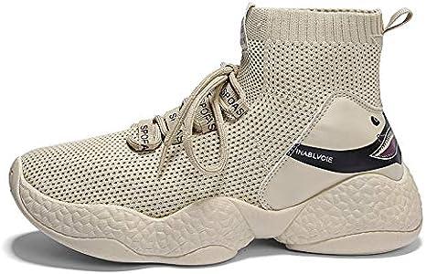 Liuxc Zapatillas de deporte Calzado de Hombre Medias Altas, Tiburones, Zapatillas voladoras, Zapatos cómodos.: Amazon.es: Deportes y aire libre