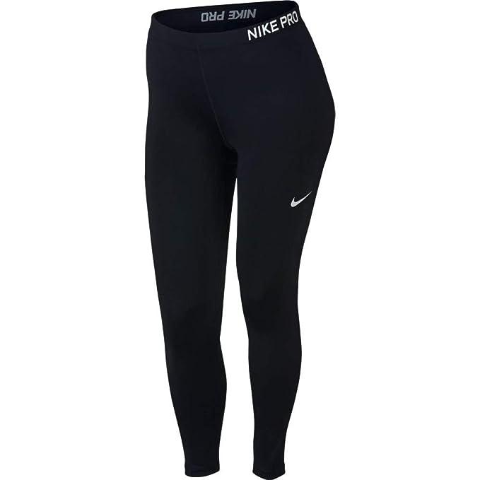 a5986583ba5 Amazon.com  Nike Pro Women s Trainings Tights (Plus Size)  Sports ...