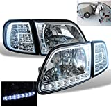 ZMAUTOPARTS Ford EXpedition LED Head Light+Corner